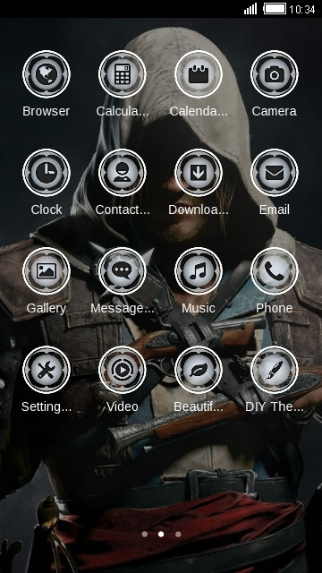 Tema Android Assassins Creed