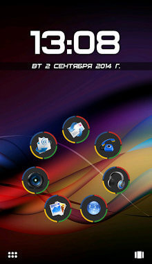 Tema Android Chromium