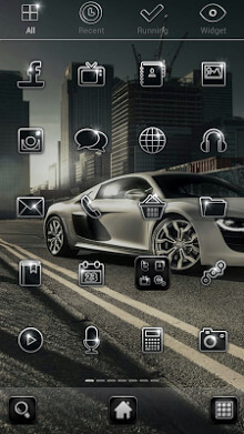 Tema Android City Racing