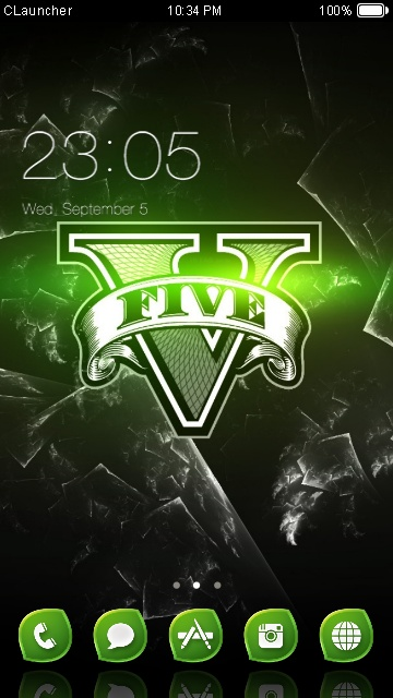 Tema Android GTA V