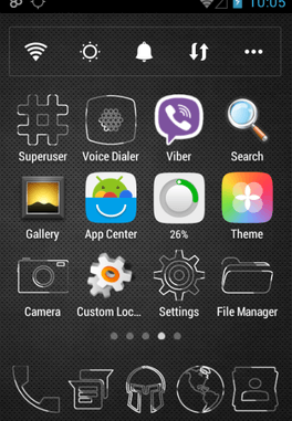 Tema Android Kontur