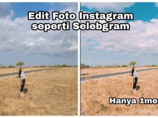 Edit foto instagram seperti selegram