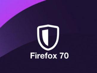 info lengkap firefox 70.0